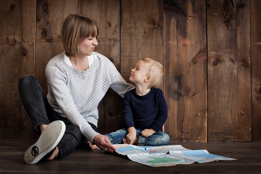 Preschool Craigieburn teacher and a young boy