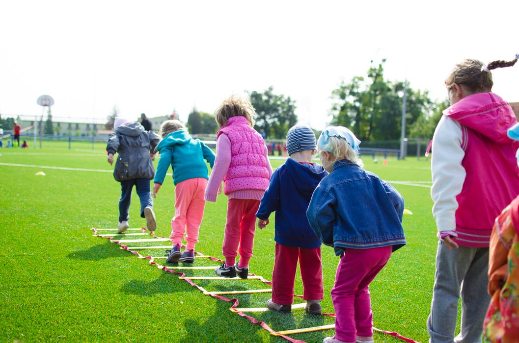 Kids playing outside a preschool in Craigieburn